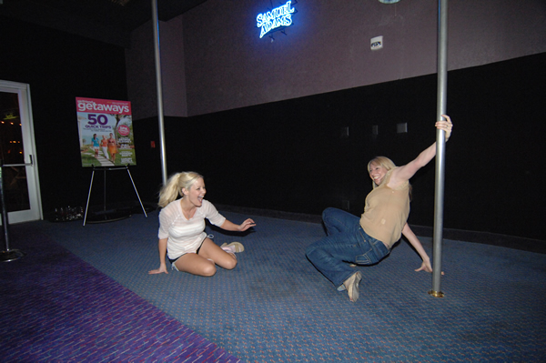pole dance bachelorette party